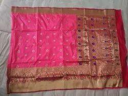 Wedding Pink Banarasi silk saree