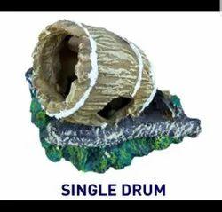 Single Drum Aquarium Toy