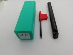 12 mm S12 SCLCL06 Mild Steel Boring Bar, For Industrial