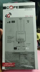 COFE White 4g Wifi Router With Sim Card Slot