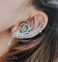 Oxidized Earrcuff Earrings