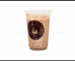 Cold Coffee Glass With Lid