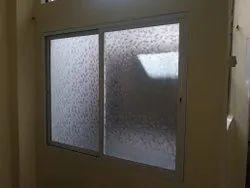 Powder Coated Aluminum three track windows, Size/Dimension: 4x4