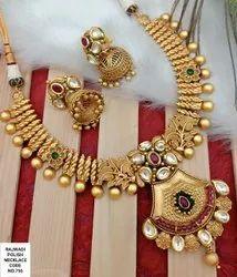 Antique & Kundan Necklace Set