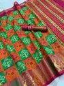 Raw Patola  silk saree