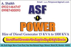 Generators On Hire