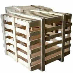 Brown Wooden Pallet Box