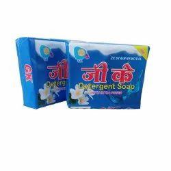 Lemon Blue Cloth Detergent Cake, Shape: Rectangle, Packaging Size: 25kg