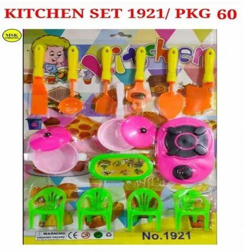 Baby Kitchen Set Toy At Rs 55 Piece Kitchen Play Set रस ई ख ल न क स ट ट य क चन स ट Msk International Mumbai Id 23165146155
