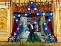Blue Star Balloon Gate