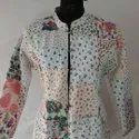 Cotten Printed Patch work Jackets
