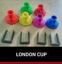 Plastic Mop Cup With Clip