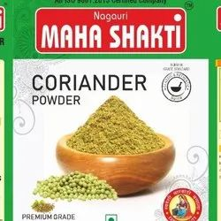 Natural Green Coriander Powder, Packaging Size: 10g & 20g Pouch Pack Available