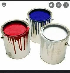 Soft Sheen Metal Low cost Enamel Paint, For Industrial, Packaging Type: Tin