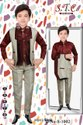 Satin, Suiting Boys Trendy Coat Suits