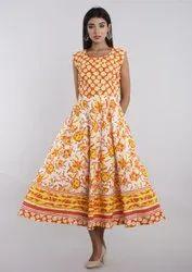 Cotton Dress Middy