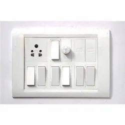 For Home PVC Modular Electrical Switch Board, 1