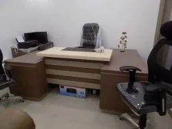 Plybord Brown Office Interior Designing Service