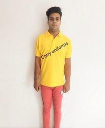 Carry Spun Matty Yellow T Shirt