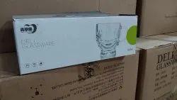 Transperent Deli Glassware