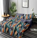3d Glace cotton printed double bedsheets in Panipat
