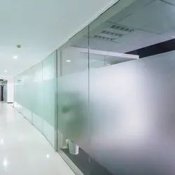 White Frosted Glass Film, For Office, Packaging Type: Roll