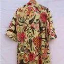 Printed Cotton Kimono Dress