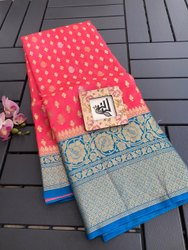 Banarasi Handloom Organza Silk Sarees