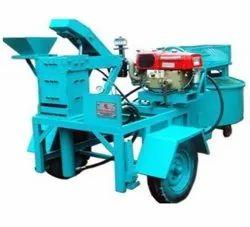 Diesel and Electric interlock bricks making machine