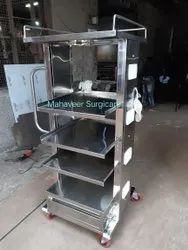Monitor Trolley Stainless Steel