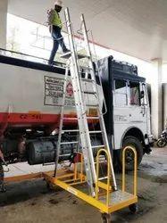 Crystal Aluminium Mobile Tanker Ladder