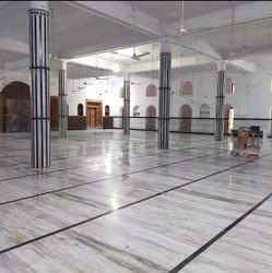Residential Building Tile/Marble/Concrete Marble Flooring Fitting Services, For Indoor, Waterproof