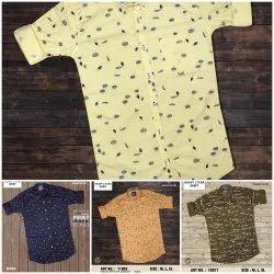 Cotton Casual Wear Men Shirts