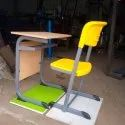 Mild Steel Modern Single Seater Desk And Chair, Size: 24 X 16 X 30