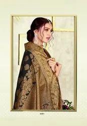 Pure Chanderi Silk Saree