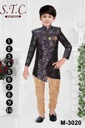 Dry Clean Boys Fashion Indo Sherwani Suit