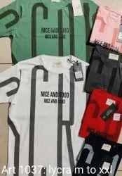 Lycra T Shirt Heavy Quality Cotton Club Italia tshirt, Age Group: 18-100