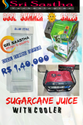 Commercial Automatic Sugarcane Juice Machine With Generator, Yield: 500 Ml/kg