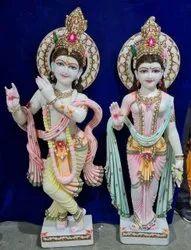 Marble Radha Krishna Statue