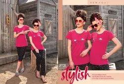Bio wash Hosiery fabric Regular Wear Ladies Nightwear, Age Group: M L Xl Xxl 3xl