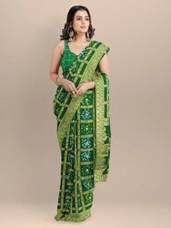 Bandhani Gatchola saree