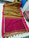 Soft Cotton Temple Handweived Sarees