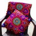 Suzani Embroidered Cushion Cover