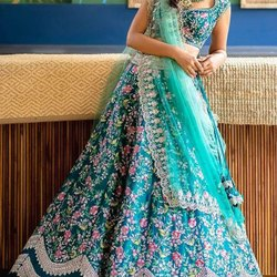 Designer Embroidery Work Lehenga Choli