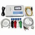 Contec Contact Ecg Machine 3 Channel, Portable