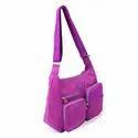 Candy Colour Cross Body Sling Bag, Side Bag