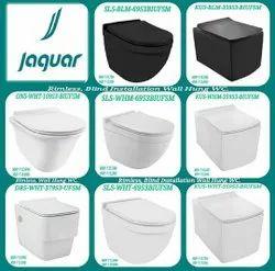 Black Wall Mounted Jaquar Sanitary Ware