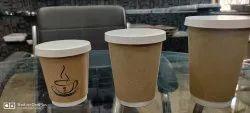 Kraft Paper Coffee Cups