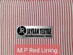 MP Red Lining uniform fabric
