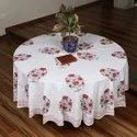 Handblock Printed Table Covers